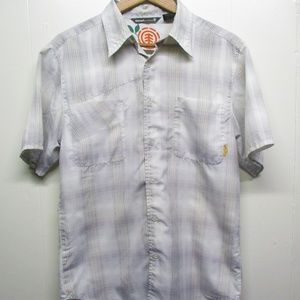 Element Mens Casual Button Down Wood and Thread